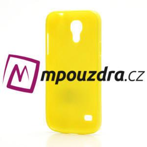 Gelový Puntík pro Samsung Galaxy S4 mini i9190- žlutá - 4