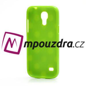 Gelový Puntík pro Samsung Galaxy S4 mini i9190- zelené - 4
