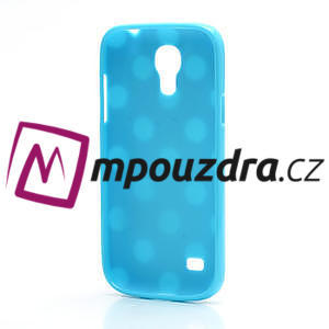 Gelový Puntík pro Samsung Galaxy S4 mini i9190- modrá - 4