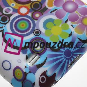 Gelové pouzdro pro Samsung Galaxy S4 mini i9190- barevné květy - 4