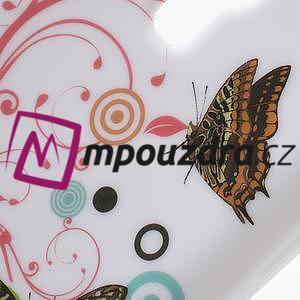 Gelové pouzdro pro Samsung Galaxy S4 mini i9190- kruhový motýl - 4