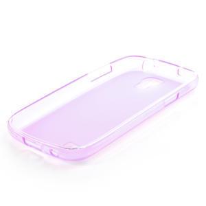 Gelové pouzdro na Samsung Galaxy S4 mini i9190- fialové - 4