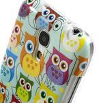 Gelové pouzdro na Samsung Galaxy S4 mini i9190- krásné sovy - 4/5