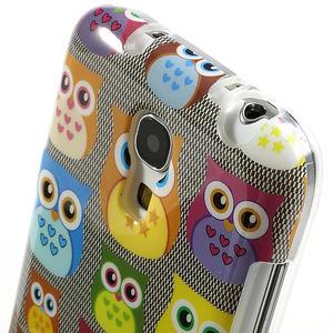 Gelové pouzdro na Samsung Galaxy S4 mini i9190- multi sovy - 4