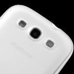 Gelové rámované pouzdro na Samsung Galaxy S3 i9300- transparentní - 4/6