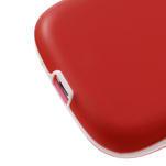 Gelové rámované pouzdro na Samsung Galaxy S3 i9300- červené - 4/6