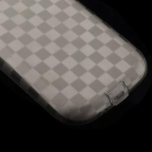 Gelové koskaté pouzdro na Samsung Galaxy S3 i9300- šedé - 4