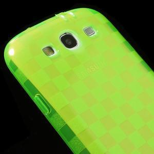 Gelové koskaté pouzdro na Samsung Galaxy S3 i9300- zelené - 4