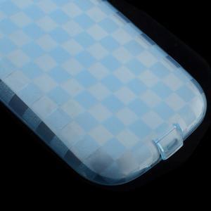 Gelové koskaté pouzdro na Samsung Galaxy S3 i9300- modré - 4