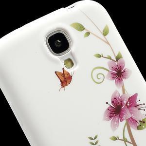 Gelové pouzdro pro Samsung Galaxy S4 i9500- kvetoucí květ - 4
