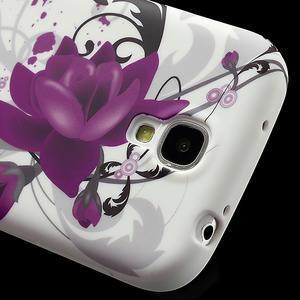 Gelové pouzdro pro Samsung Galaxy S4 i9500- květové pouzdro - 4