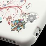 Gelové pouzdro pro Samsung Galaxy S4 i9500- barevná květina - 4/7