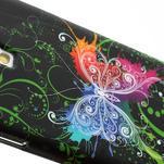 Gelové pouzdro pro Samsung Galaxy S4 i9500- barevný motýl - 4/5