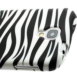 Gelové pouzdro pro Samsung Galaxy S4 i9500- zebra - 4