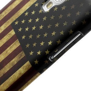 Gelové pouzdro pro Samsung Galaxy S4 i9500- Americká vlajka - 4