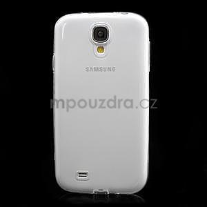 Gelové slim pouzdro na Samsung Galaxy S4 i9500- bílé - 4