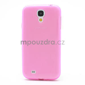 Gelové slim pouzdro na Samsung Galaxy S4 i9500- růžové - 4