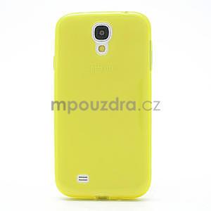 Gelové slim pouzdro na Samsung Galaxy S4 i9500- žluté - 4