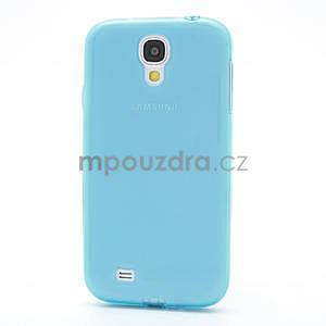 Gelové slim pouzdro na Samsung Galaxy S4 i9500- modré - 4