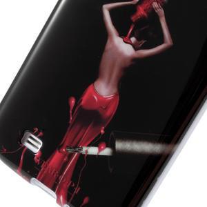 Gelové pouzdro na Samsung Galaxy S4 i9500- lakovaná žena - 4