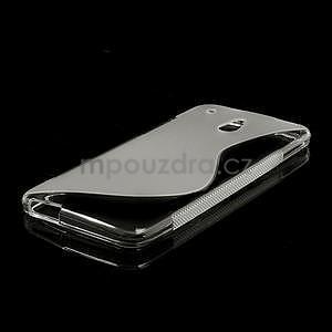 Gelové S-line pouzdro pro HTC one Mini M4- transparentní - 4