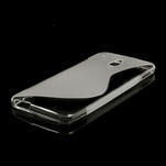 Gelové S-line pouzdro pro HTC one Mini M4- transparentní - 4/5
