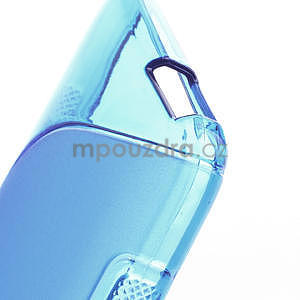 Gelové S-line pouzdro pro HTC one Mini M4- modré - 4