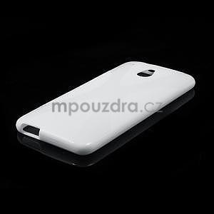 Gelové X-line pouzdro pro HTC one Mini M4- bílé - 4