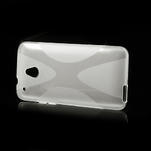 Gelové X-line pouzdro pro HTC one Mini M4- transparentní - 4/4