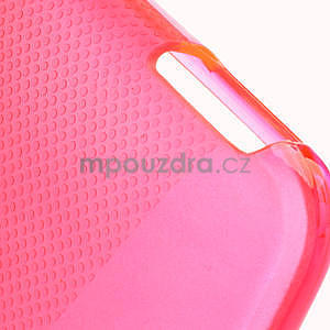 Gelové X-line pouzdro pro HTC one Mini M4- růžové - 4