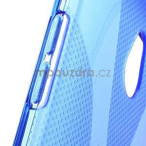 Gelové X-line pouzdro pro HTC one Mini M4- modré - 4