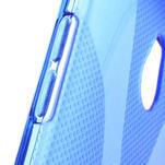 Gelové X-line pouzdro pro HTC one Mini M4- modré - 4/4