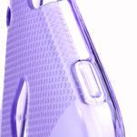 Gelové X-line pouzdro pro HTC one Mini M4- fialové - 4/4