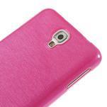 Gelové kartáčované pouzdro na Samsung Galaxy Note 3 Neo - růžové - 4/5