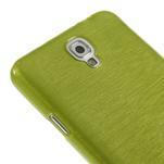 Gelové kartáčované pouzdro na Samsung Galaxy Note 3 Neo - zelené - 4/5
