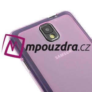 Gelové Jelly pouzdro na Samsung Galaxy Note 3- růžové - 4