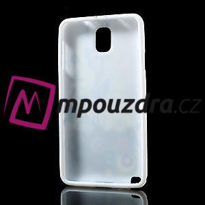 Gelové pouzdro na Samsung Galaxy Note 3- květiny - 4