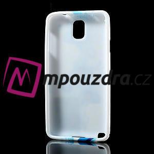 Gelové pouzdro na Samsung Galaxy Note 3- modrá lilie - 4