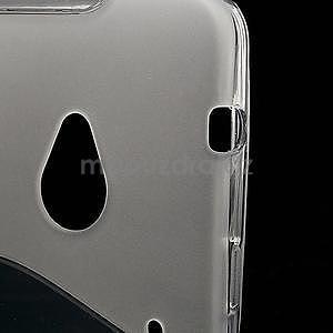 Gelové S-line pouzdro pro HTC one M7- transparentní - 4