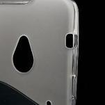 Gelové S-line pouzdro pro HTC one M7- transparentní - 4/7