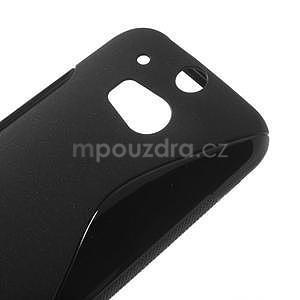 Gelové S-line pouzdro pro HTC one M8- černé - 4