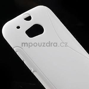 Gelové S-line pouzdro pro HTC one M8- bílé - 4