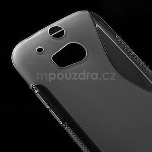 Gelové S-line pouzdro pro HTC one M8- transparentní - 4