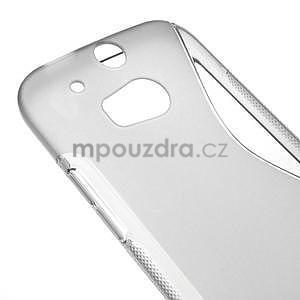 Gelové S-line pouzdro pro HTC one M8- šedé - 4