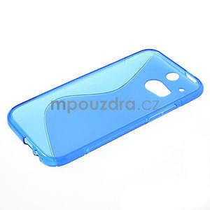 Gelové S-line pouzdro pro HTC one M8- modré - 4