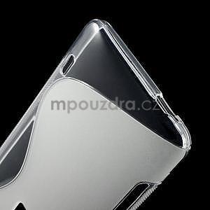 Gelové S-line pouzdro pro HTC one Max-transparentní - 4