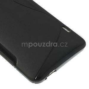 Gelové S-line pouzdro pro HTC one Max-černé - 4