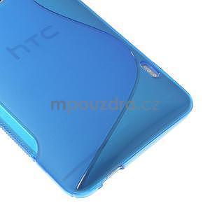 Gelové S-line pouzdro pro HTC one Max-modré - 4