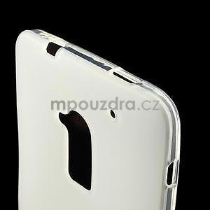 Gelové matné pouzdro pro HTC one Max- bílá - 4