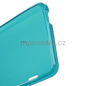 Gelové matné pouzdro pro HTC one Max- světlemodré - 4